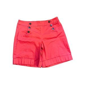 New York and Company button front bermuda short 12